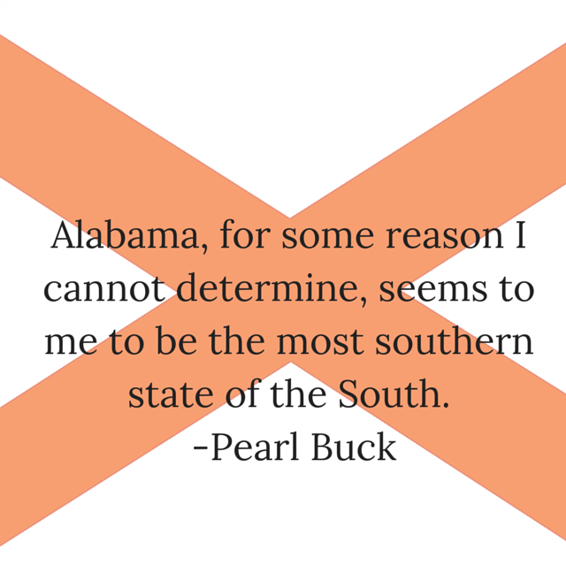Alabama, for some reason I cannot