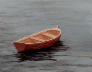 Rowboat Adrift by Jeff Marks